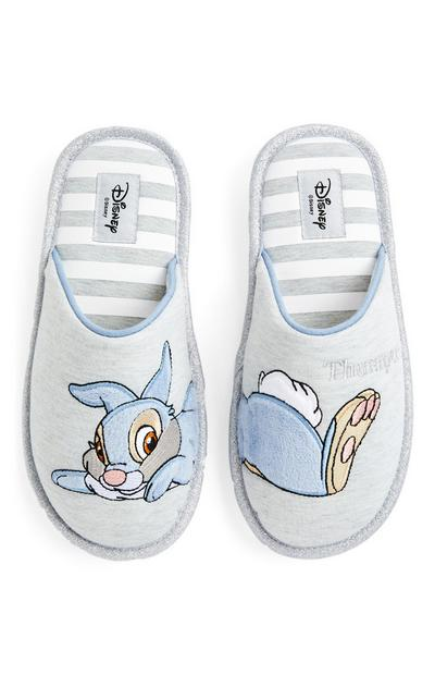 Grey Disney Thumper Mules