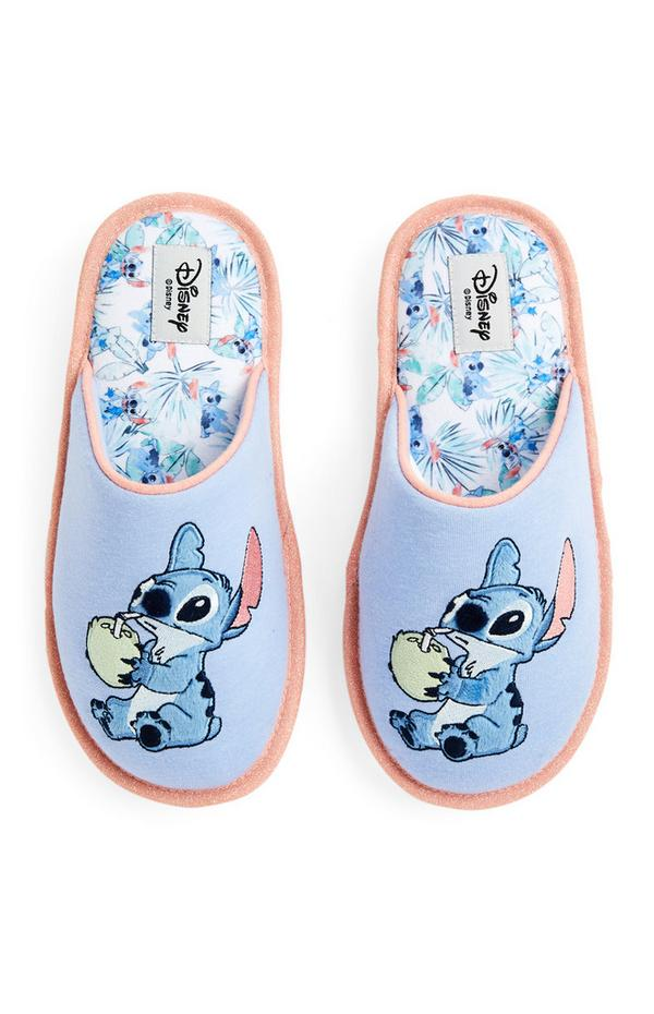 """""""Disney Stitch"""" Pantoletten mit tropischem Muster"""