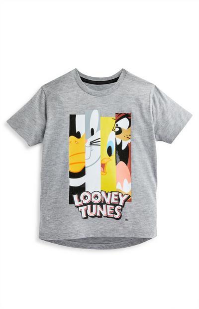 T-shirt gris Looney Tunes garçon