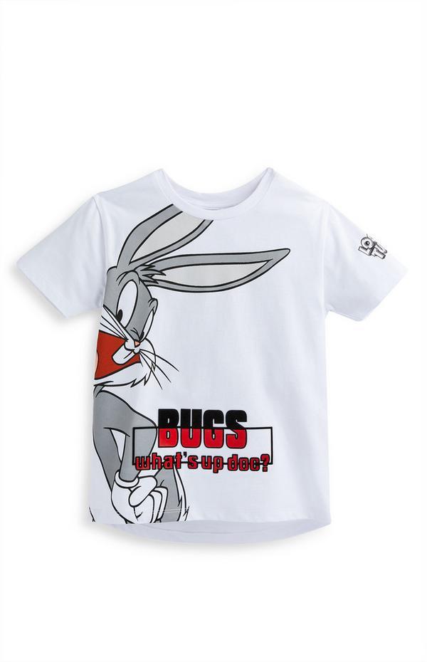 "Weißes ""Bugs Bunny"" T-Shirt (kleine Jungen)"