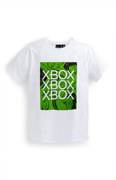Wit T-shirt Xbox voor jongens