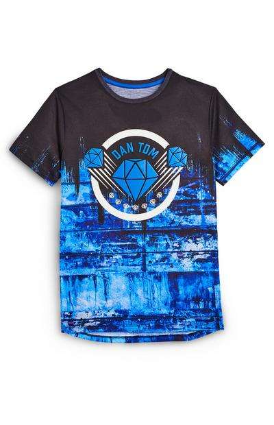 Older Boy Black And Blue Dan TDM T-Shirt