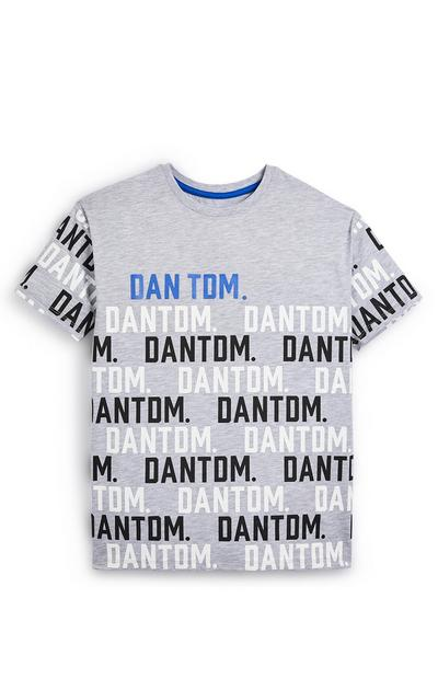 Older Boy Gray Dan TDM T-Shirt