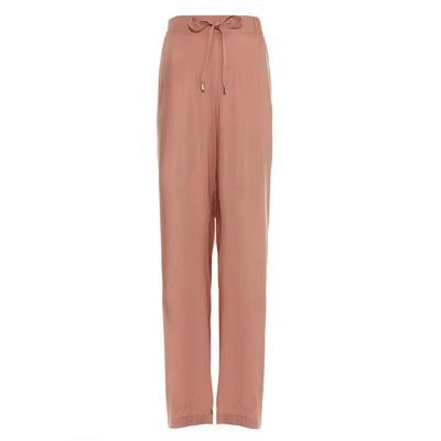 Blush Pink Viscose Palazzo Trousers