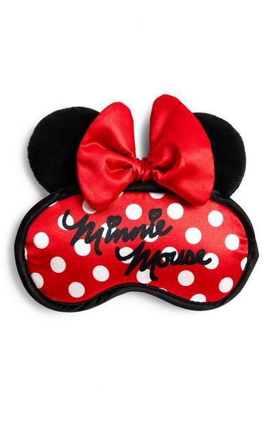 Rood slaapoogmasker Disney Minnie Mouse