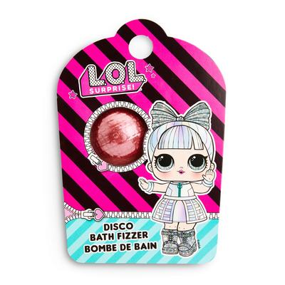 Rožnata krogla za penečo kopel Lol Dolls