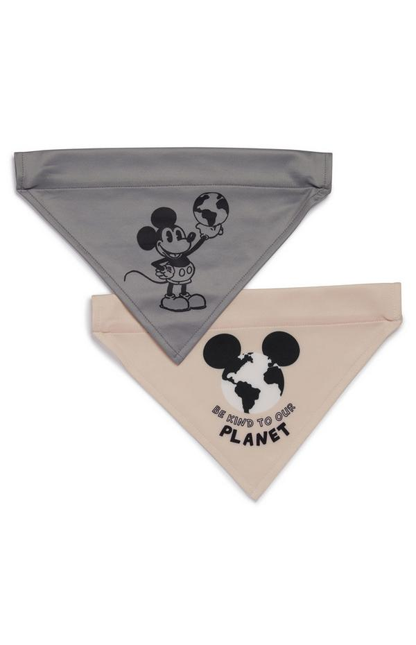 Primark Cares Featuring Disney Mickey Mouse Pet Bandana 2 Pack