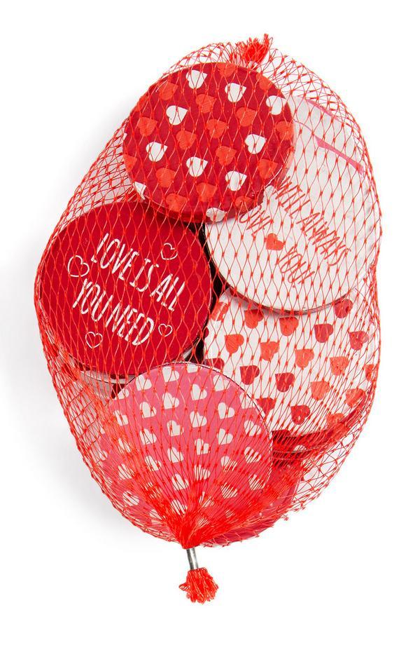 Chocolademunten Valentijnsdag