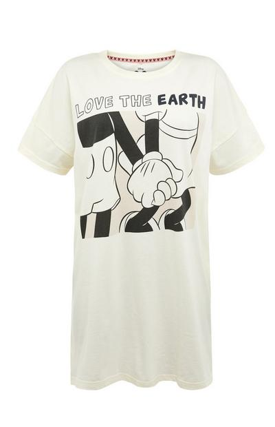Primark Cares Featuring Disney Mickey Mouse Ivory Nightshirt