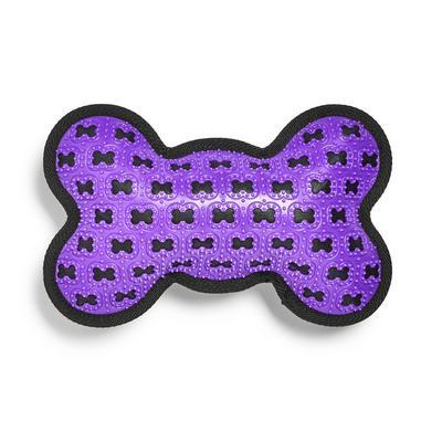 Purple Tough Bone Pet Chew Toy