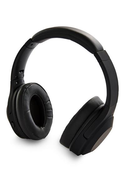 Black Premium Over Ear Headphones