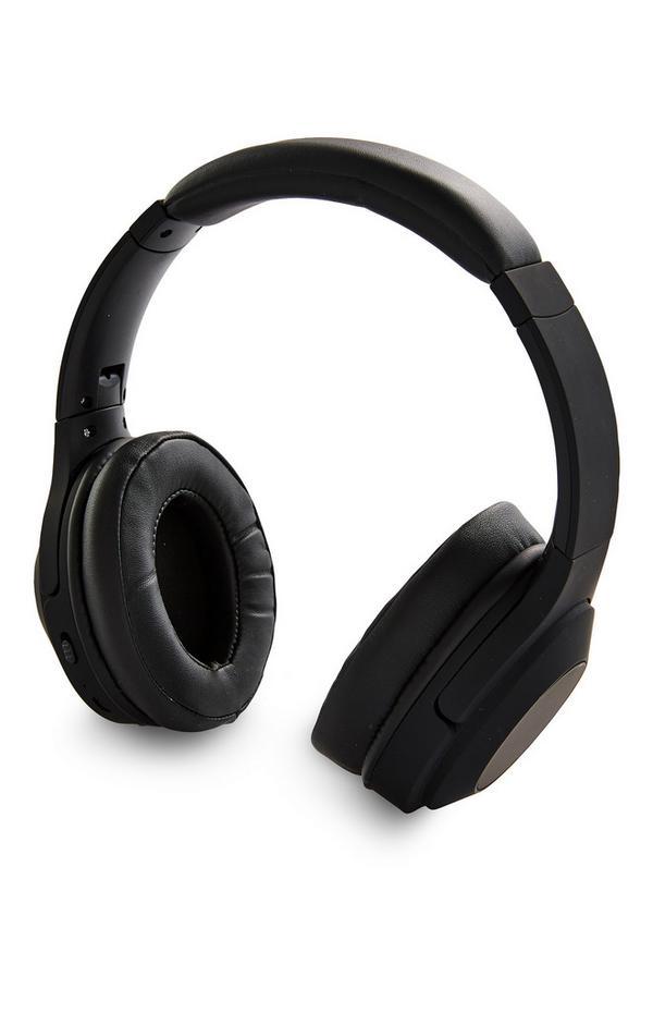 Casque audio noir Premium