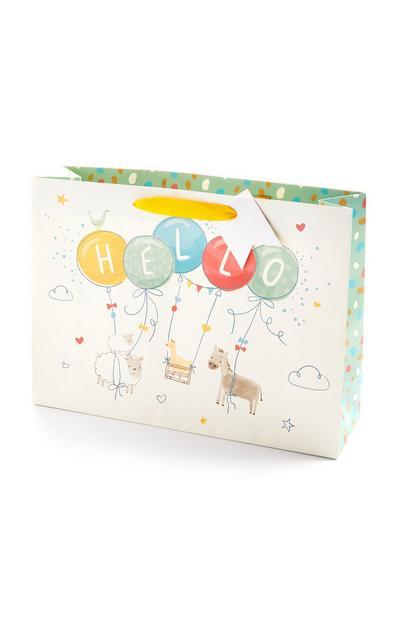 Emballage cadeau bébé Hello Simple Days