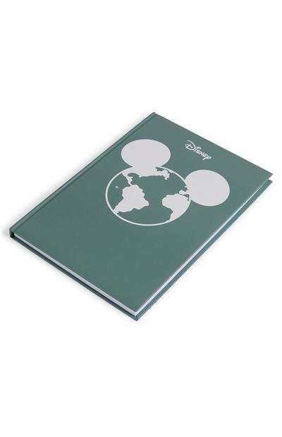 Cuaderno verde A5 con tapa dura Primark Cares featuring Disney