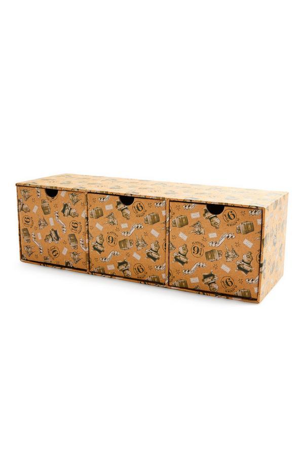 Harry Potter Desk Storage 3 Drawer Box