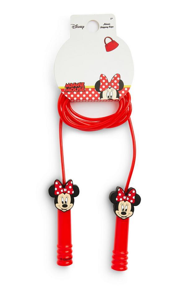 Corda saltar Disney Minnie Mouse vermelho
