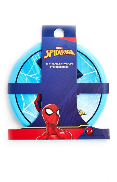 Frisbee bleu Spiderman