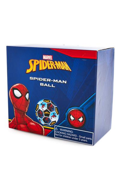 Ballon de foot bleu Spiderman
