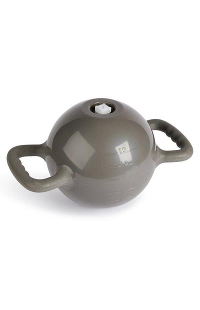 Workout Grey Kettle Bell