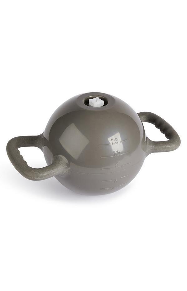 Haltere kettlebell desporto cinzento