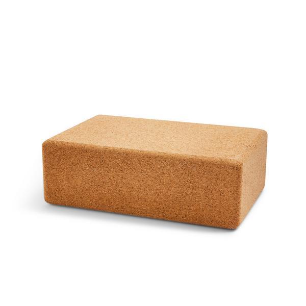 Cork Wellness Yoga Block
