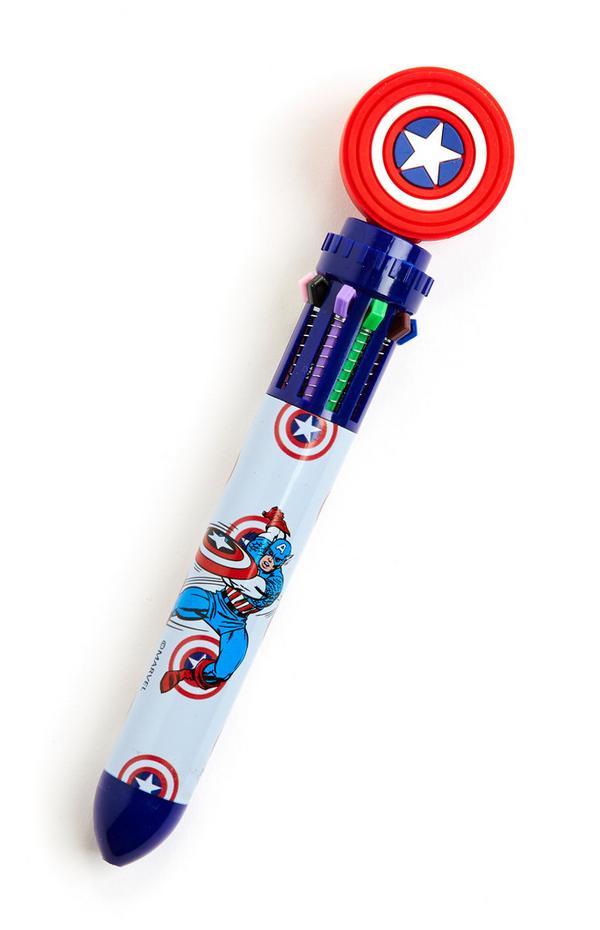 10-Color Marvel Avengers Pen