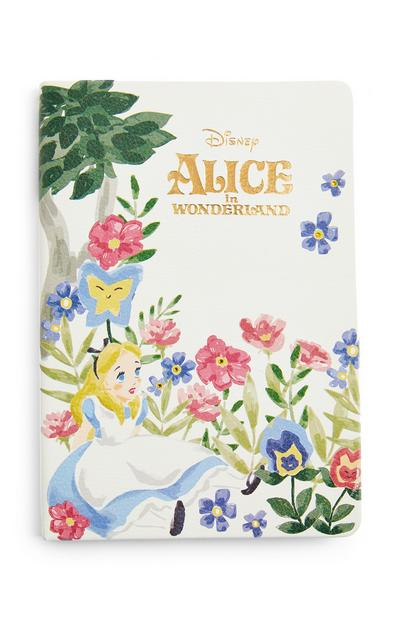 Disney Alice In Wonderland A5 Notebook