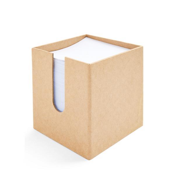 White Memo Pad Block