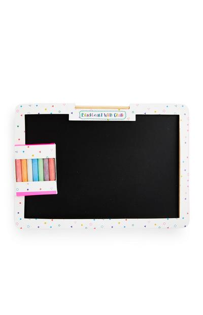 Mini Chalk Board With Chalk