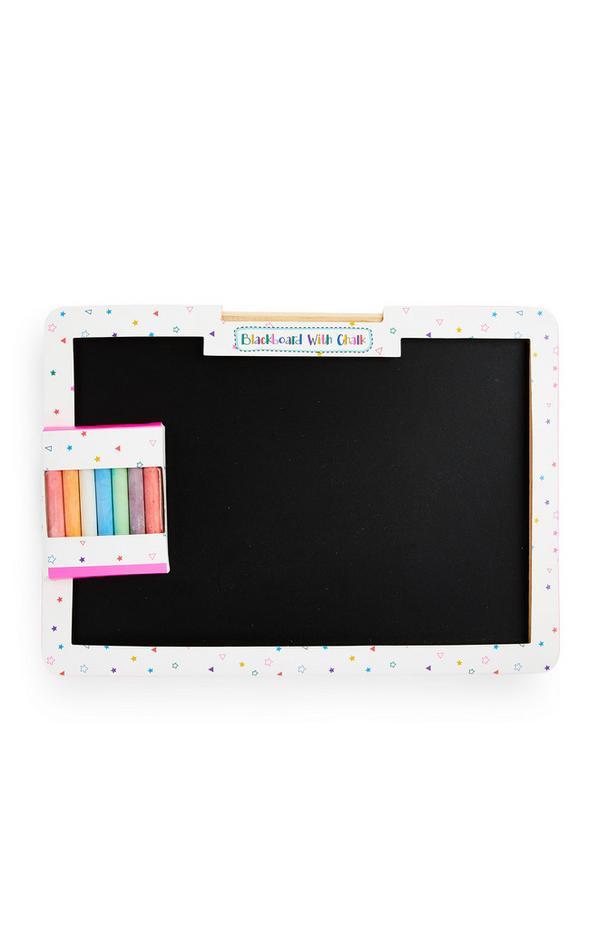 Mini Chalk Board With Chalk