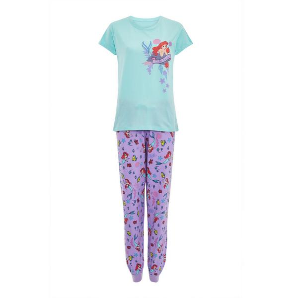 Purple Disney The Little Mermaid Pyjamas Set