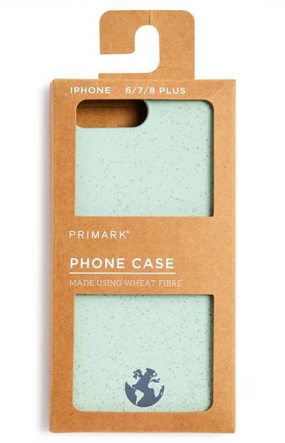 Pale Green Wheat Fibre Phone Case