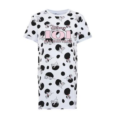 White Disney 101 Dalmations Nightshirt