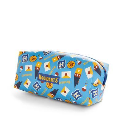Blue Harry Potter Hogwarts Pencil Case
