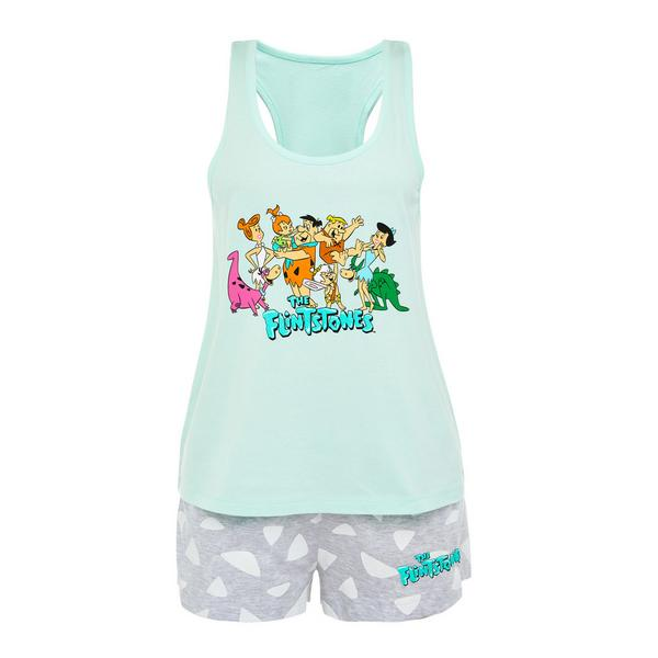 The Flintstones Blue Pajamas Set