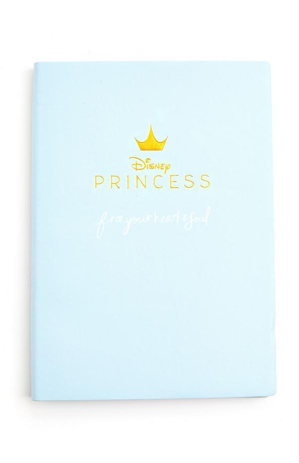 Blue Disney Princess A5 Notebook