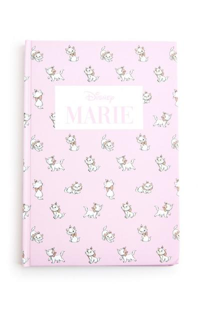 Pink Disney Aristocats Marie A5 Harback Notebook