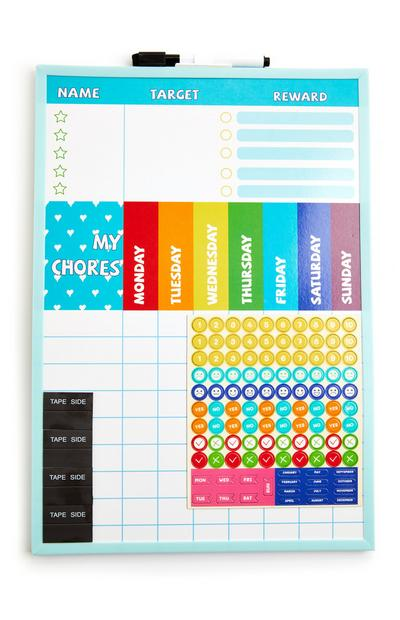 Reward Chart Board And Pen