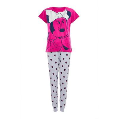 Pink Disney Minnie Mouse Pajama Set