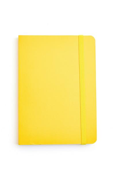 Yellow A6 Notebook