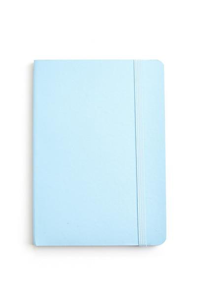 Bloco notas A6 azul