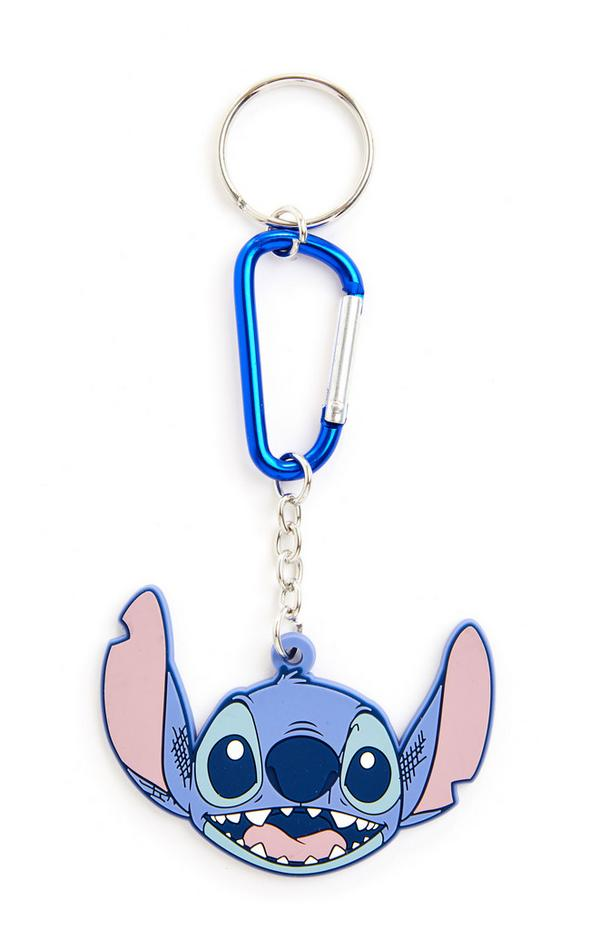 Blue Disney Lilo And Stitch Travel Dangle Keyring