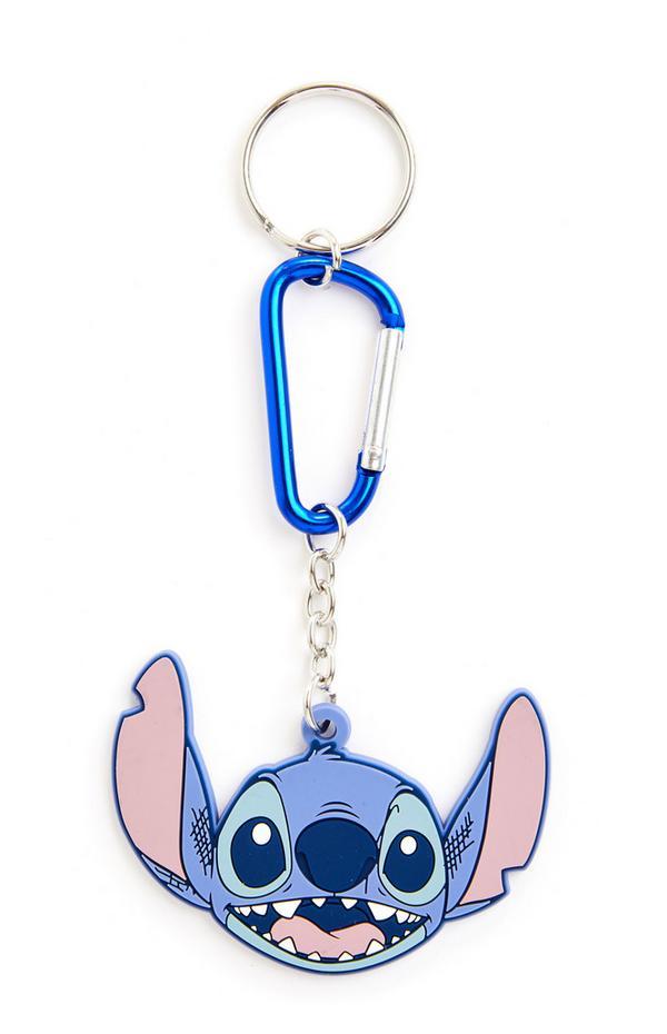 Portachiavi blu con ciondolo Lilo & Stitch Disney
