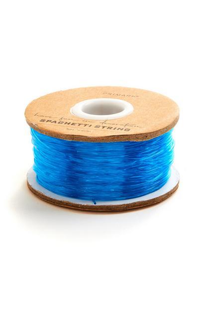 Blue Crafting Spaghetti String