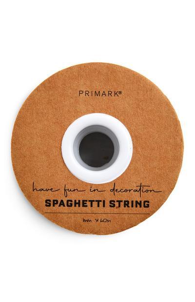 Crafting Spaghetti String