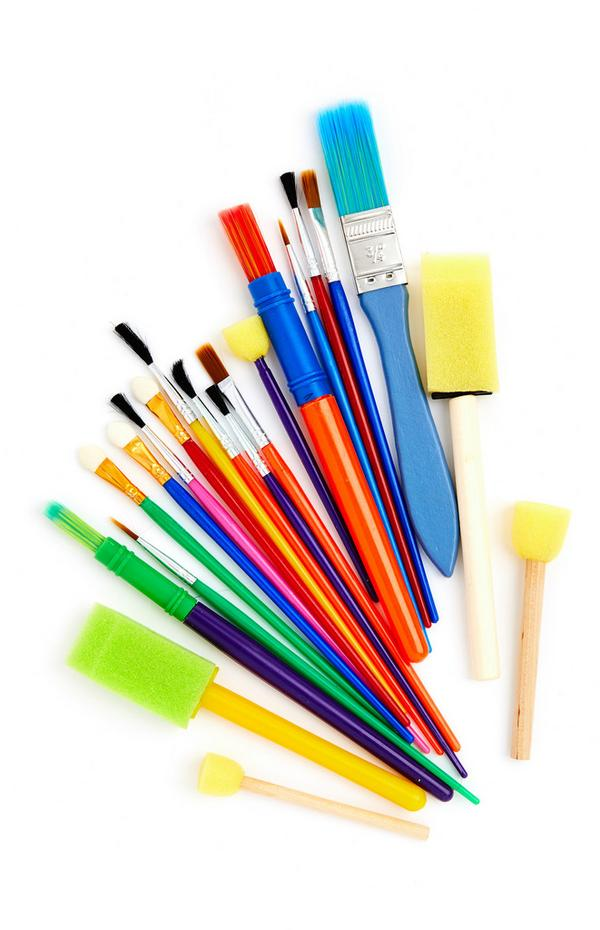 Paintbrush Assortment Set