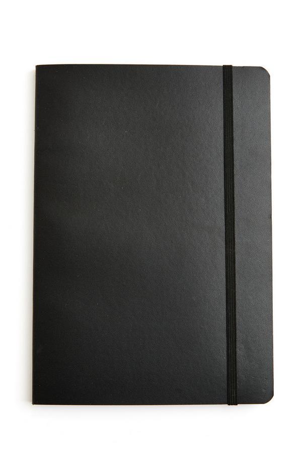 Zwart A5-notitieboekje