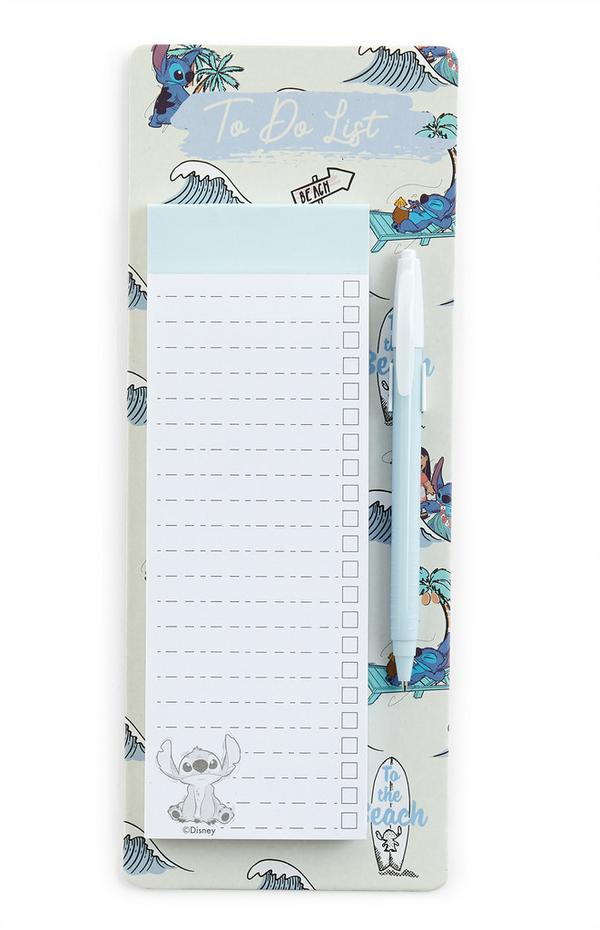 Lilo And Stitch To Do List And Pen Set