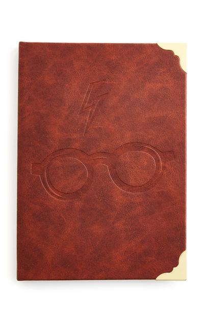 Harry Potter A5 Faux Leather Notebook