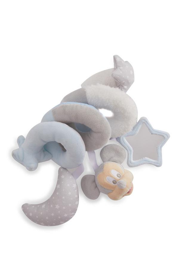 Peluche de felpa en espiral de Mickey Mouse para bebé